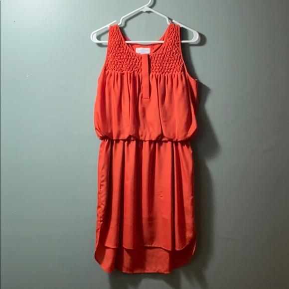 Jessica Simpson Dresses & Skirts - Orange sleeveless dress